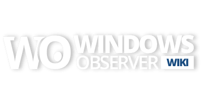 WindowsObserver Wiki